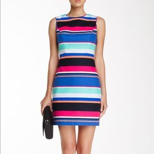 Kate Spade Tropical Stripe Mariam dress